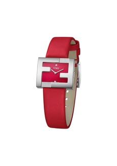 Fendi FF logo embellished watch
