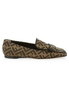 Fendi FF Logo Loafers