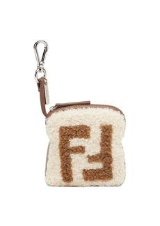 Fendi FF logo key ring