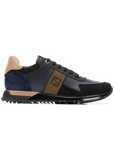 Fendi FF logo lace-up sneakers