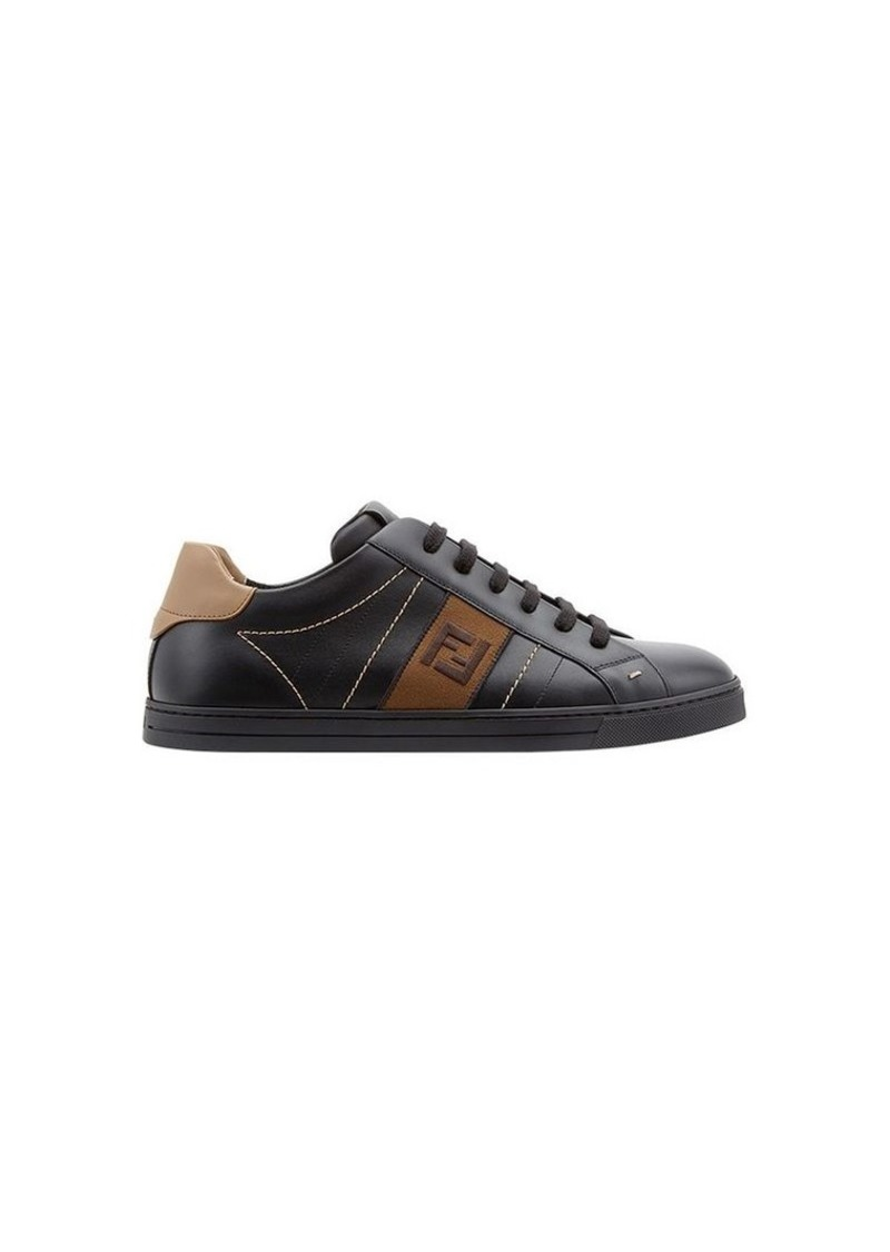 Fendi FF logo low-top sneakers