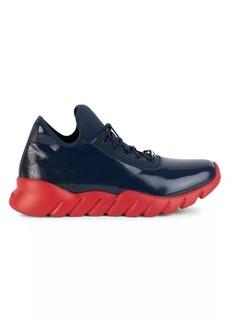 Fendi FF Logo Neoprene Chunky Sneakers