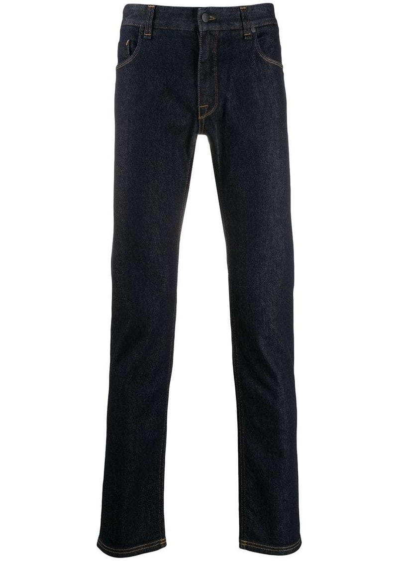 Fendi FF logo pocket skinny jeans