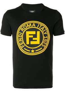 Fendi FF logo print T-shirt