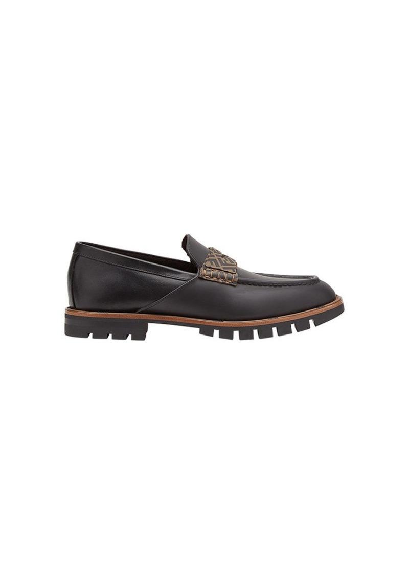 Fendi FF logo slip-on loafers