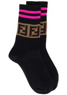Fendi FF logo socks
