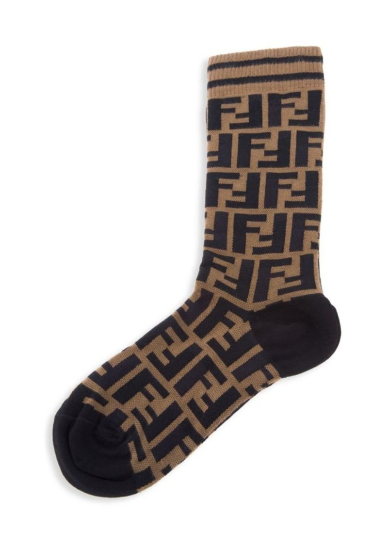 01f68ad9af50b Fendi FF Logo Socks | Misc Accessories