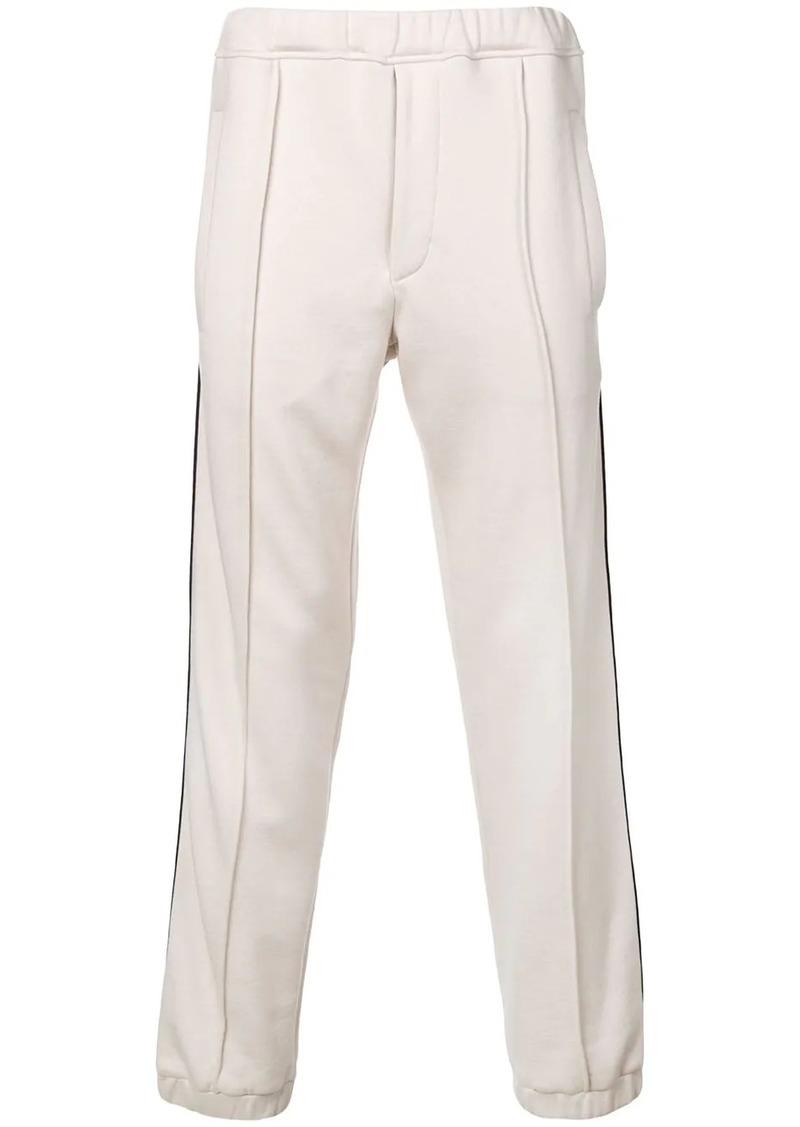 Fendi FF logo stripe track trousers