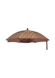 Fendi FF logo umbrella hat