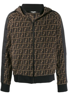 Fendi FF logo zip-up jacket