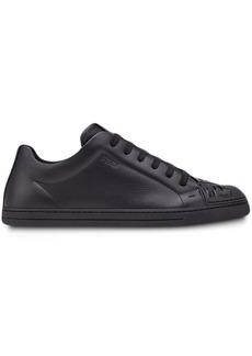 Fendi FF motif monochrome sneakers
