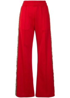 Fendi FF motif side-panel relaxed trousers