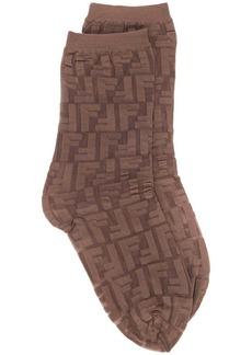 Fendi FF motif socks