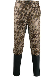 Fendi FF panels track pants