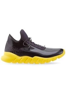 Fendi FF pattern low-top sneakers