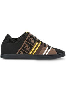 Fendi FF print low-top sneakers