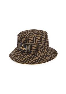 Fendi FF Print Packable Bucket Hat