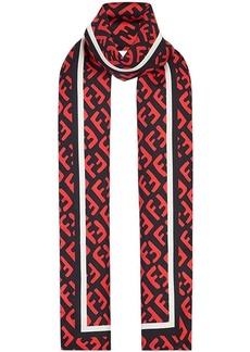 Fendi FF print scarf
