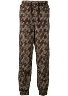 Fendi FF print track pants