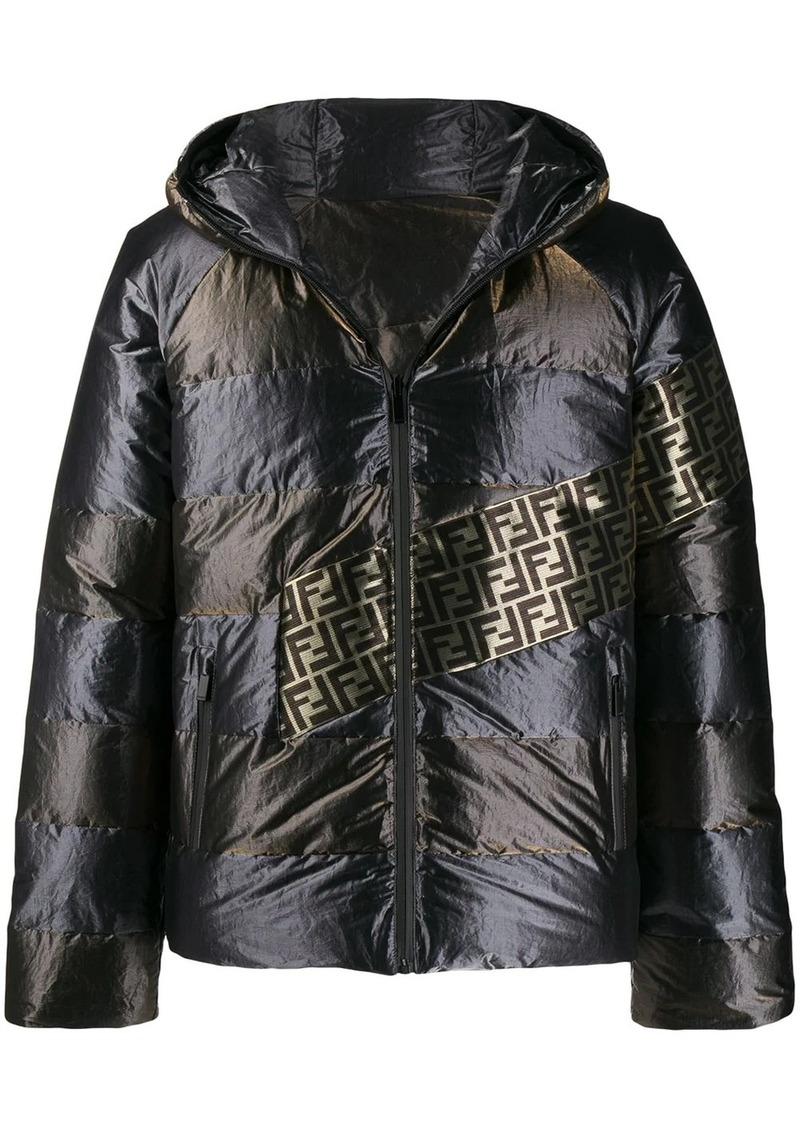 Fendi ff reversible padded-jacket
