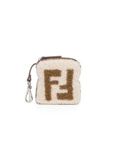 Fendi FF Shearling Toast Charm