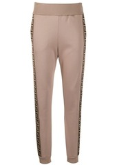 Fendi FF side stripe track pants