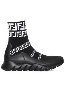 Fendi Ff Signature Socks Sneaker