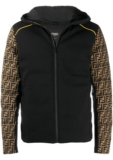Fendi ff-sleeve padded jacket