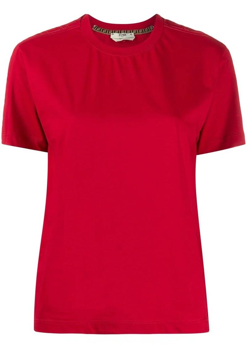 Fendi FF sleeve panel T-shirt