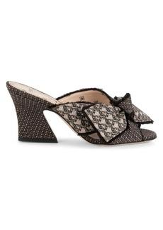 Fendi Ffreedom Bow-Tie Mules
