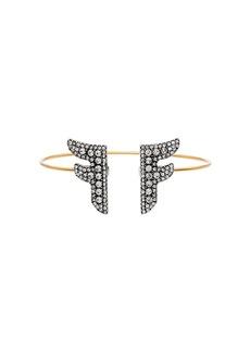 Fendi FFreedom logo bracelet