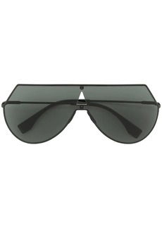 Fendi flat aviator sunglasses