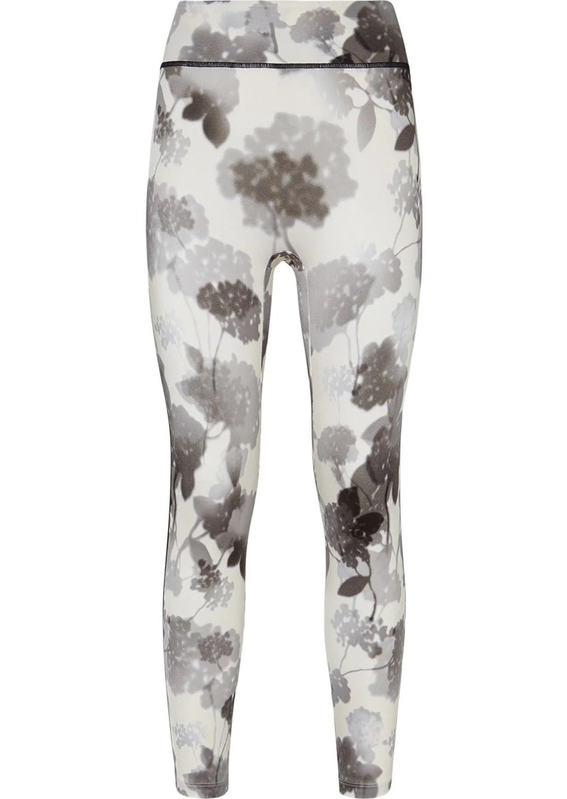 Fendi floral print leggings