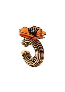 Fendi flower earring