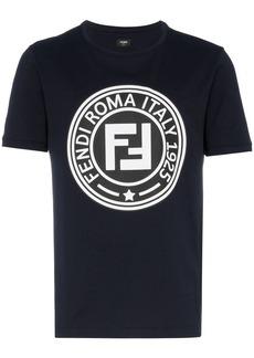 Fendi FNDI LOGO ROMA TEE NVY