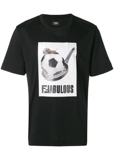 Fendi football T-shirt