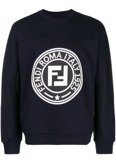 Fendi front logo sweatshirt