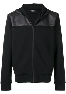 Fendi full-zipped hooded jacket