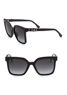 Fendi Fun Fair 54MM Square Sunglasses
