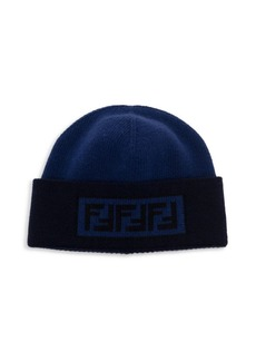 Fendi Fun Wool & Cashmere Beanie