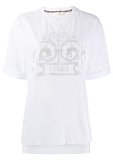Fendi gate logo T-shirt
