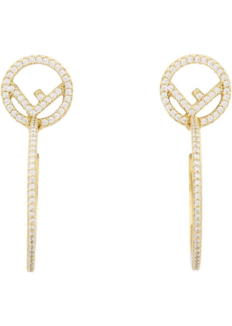 Gold 'F is Fendi' Earrings