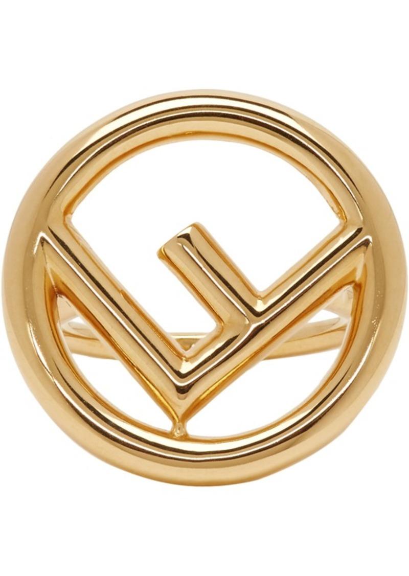 Gold 'F is Fendi' Ring