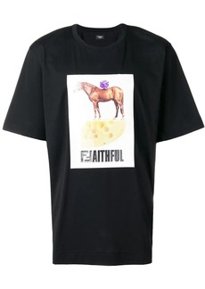 Fendi graphic print T-shirt