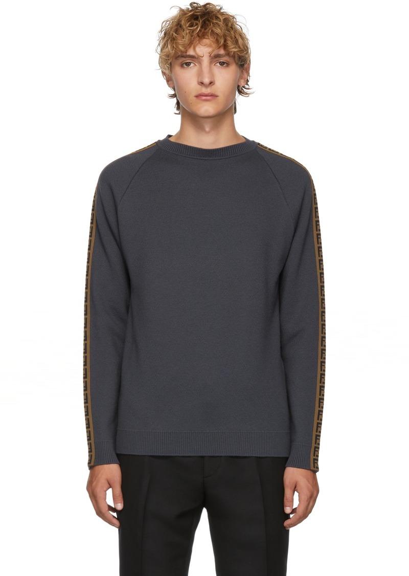 Grey 'Forever Fendi' Sweater