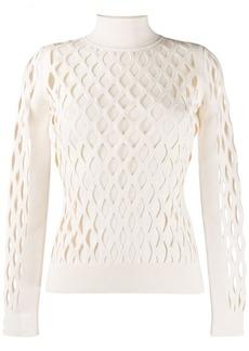 Fendi high collar pullover