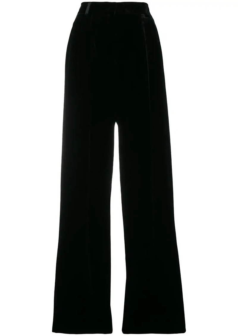 Fendi high waist palazzo trousers