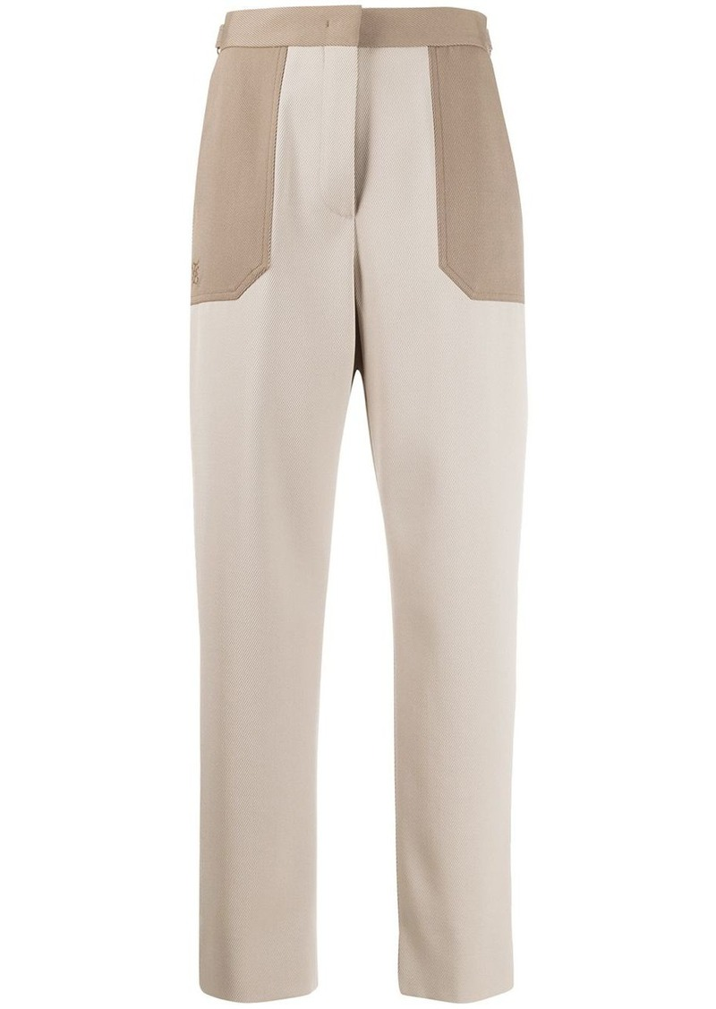 Fendi high-waisted trousers
