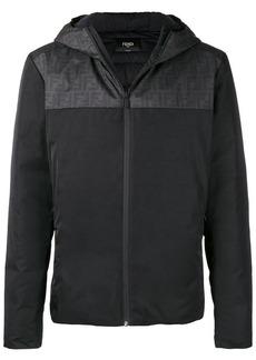 Fendi hooded padded jacket