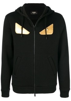 Fendi hooded zipped jacket